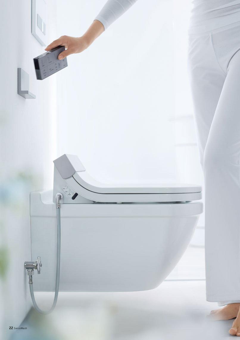 Sensowash Starck: High-Tech Shower Toilet By Duravit concernant Toilette Starck