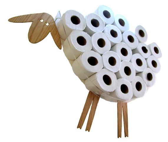 Sheep-Shelf A Wall Shelf For Storing Toilet Paper Rolls   Etsy pour Porte Papier Toilette Original