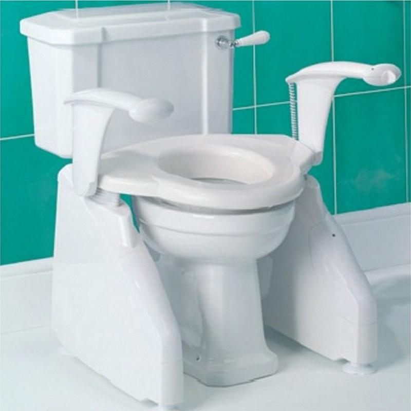 Siège De Toilettes - Réhausseur Wc Et Cadre De Toilettes concernant Toilette Rehausse