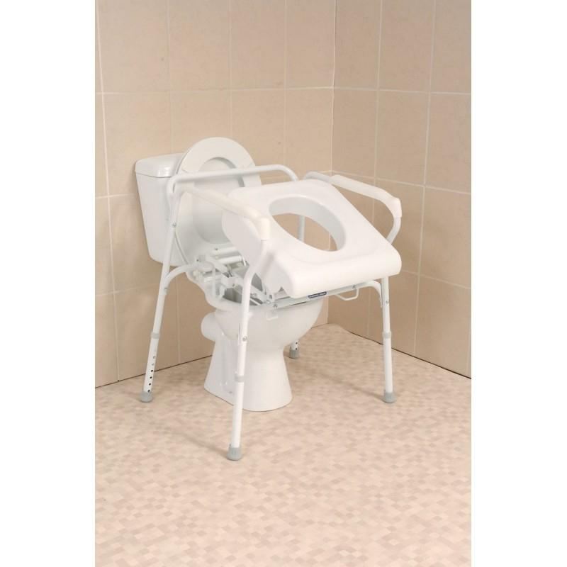 Siège Releveur De Toilettes Pour Se Lever S'Asseoir En pour Toilette Au Lit En Technique