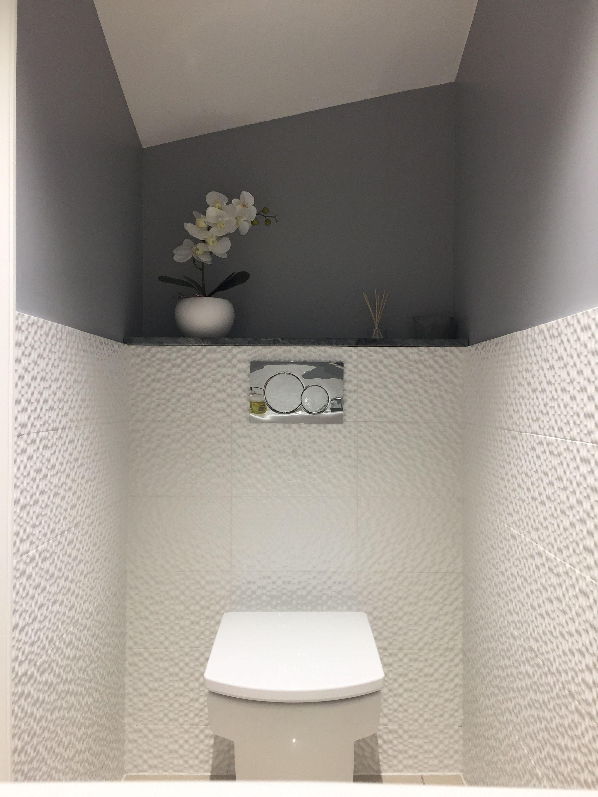 Small Toilet, Geberit, Porcelanosa Tiles, Roca Wall Hung destiné Toilette Suspendu Geberit Prix