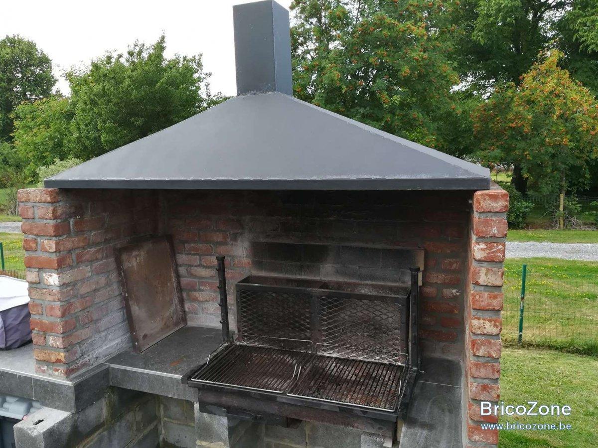 Solution Pour Cheminée Sur Barbecue destiné Aspire Fumée Cheminée