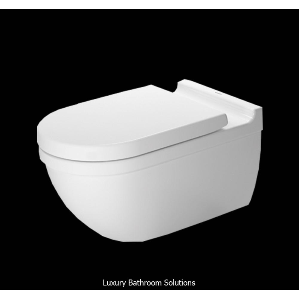 Starck 3 - Luxury Designer Wall Mounted Toilet (Extended avec Toilette Starck