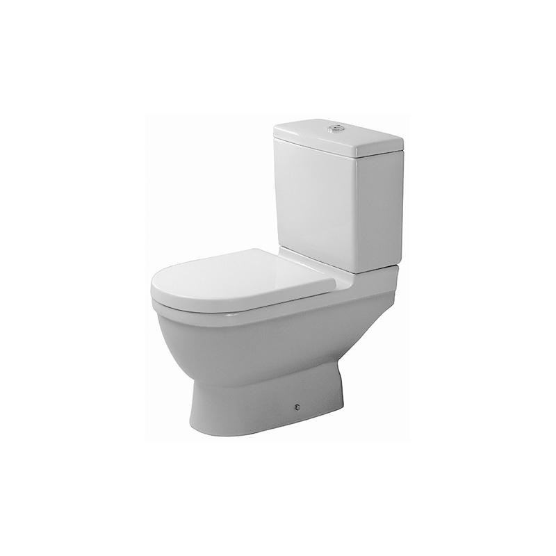 Starck 3 - Toilet, Close-Coupled - Wc From Duravit pour Toilette Starck