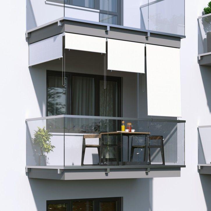 Store Exterieur Vertical Balcon avec Rideau Plastique Transparent Pour Terrasse