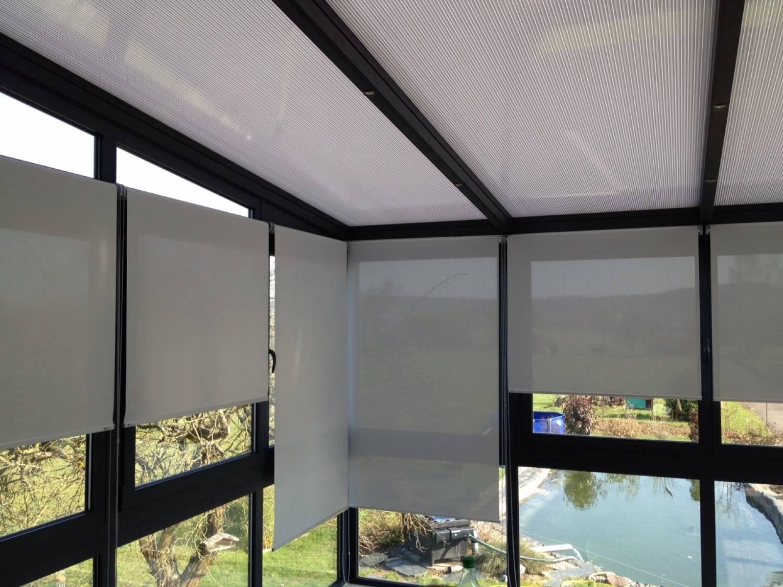 store interieur anti chaleur vertical