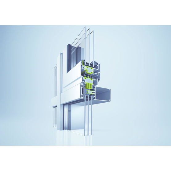 Système Pour Mur Rideau Haute Isolation Thermique Et intérieur Rideau Isolation Phonique