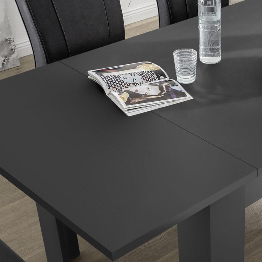 Table Design Extensible, Table De Salle À Manger, Table Grise