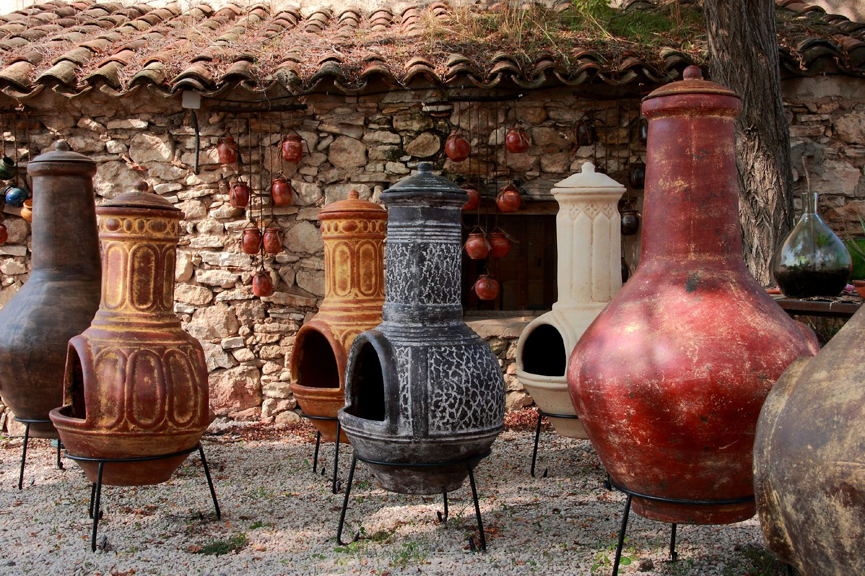 Terres Cuites | Brasero Mexicain : Un Barbecue- Cheminée D intérieur Cheminée De Terrasse
