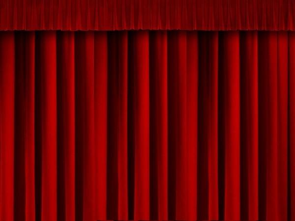 Theatre Rideaux Escaliers intérieur Rideau De Scène Noir