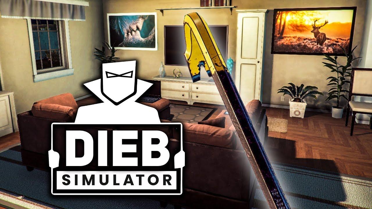 Thief Simulator #9: Weg Mit Der Toilette!   Einbrecher intérieur Toilette Simulator