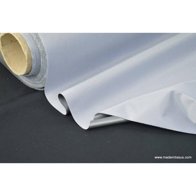 Tissu Occultant Isolant Thermique Et Phonique Gris Par 50Cm à Rideau Isolant Phonique