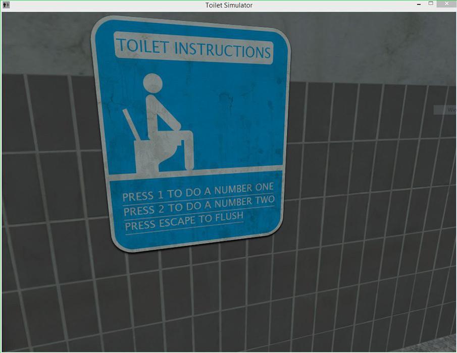 Toilet Simulator - Free Download   Rocky Bytes encequiconcerne Toilette Simulator