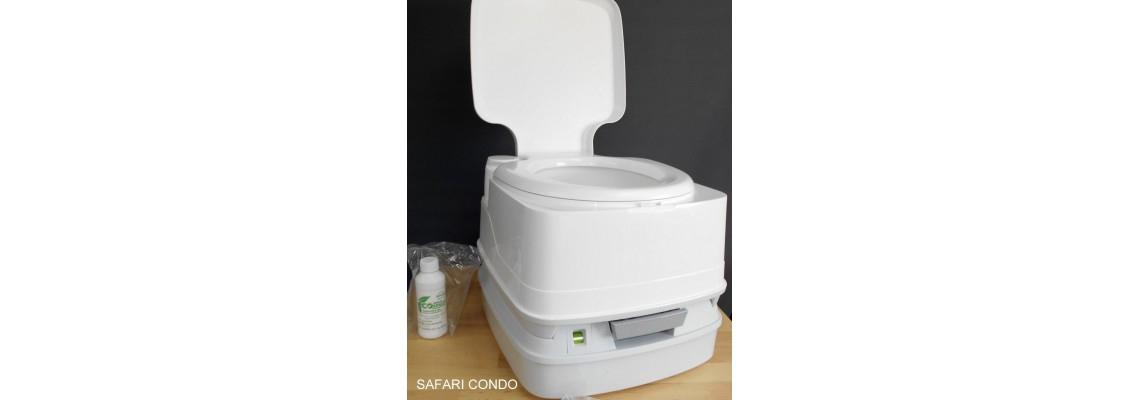 Toilette Portative Porta-Potti Par Thetford intérieur Toilette Portative