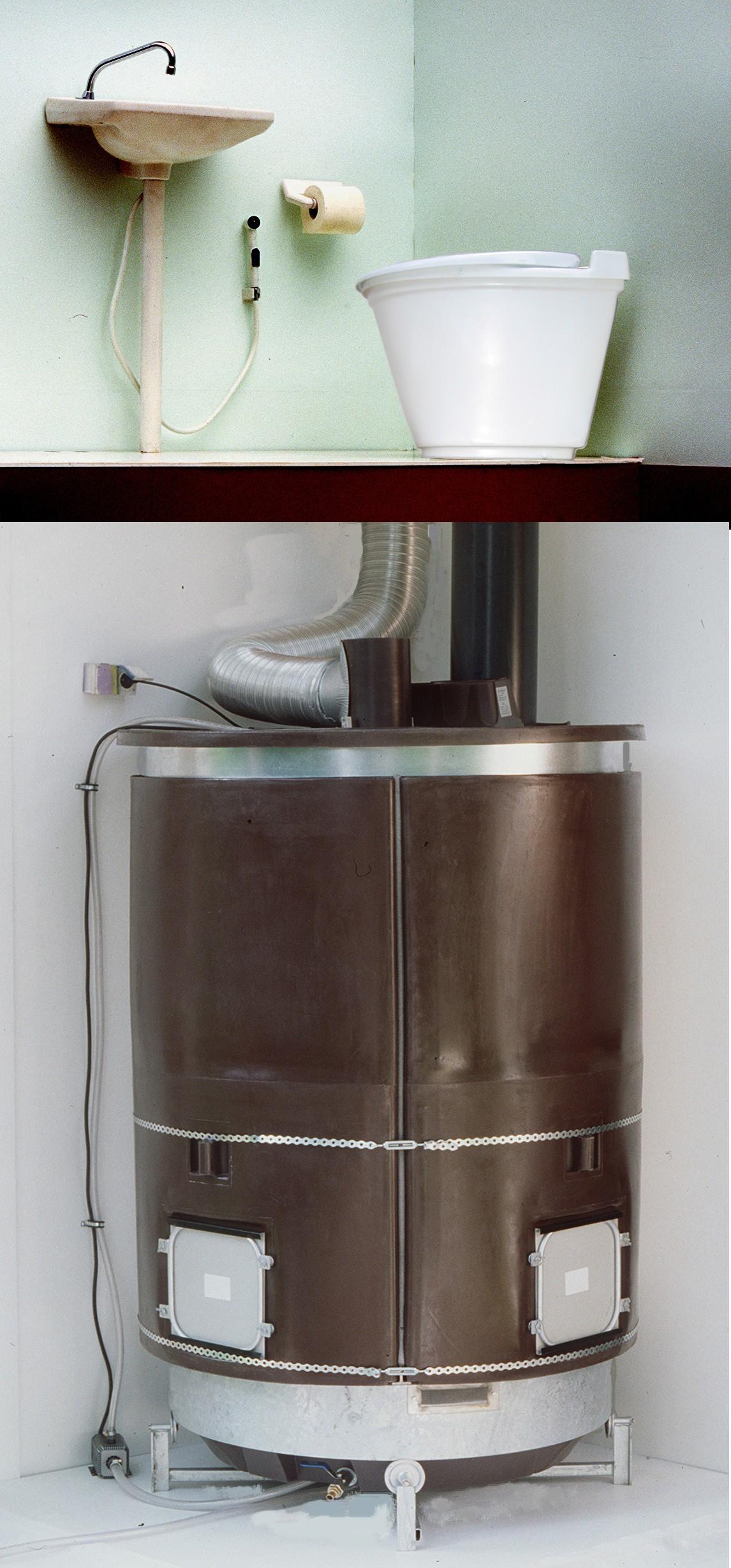 Toilette Sèche À Compost Yv Ekolet - Toilette Sèche dedans Toilette Seche Interieur