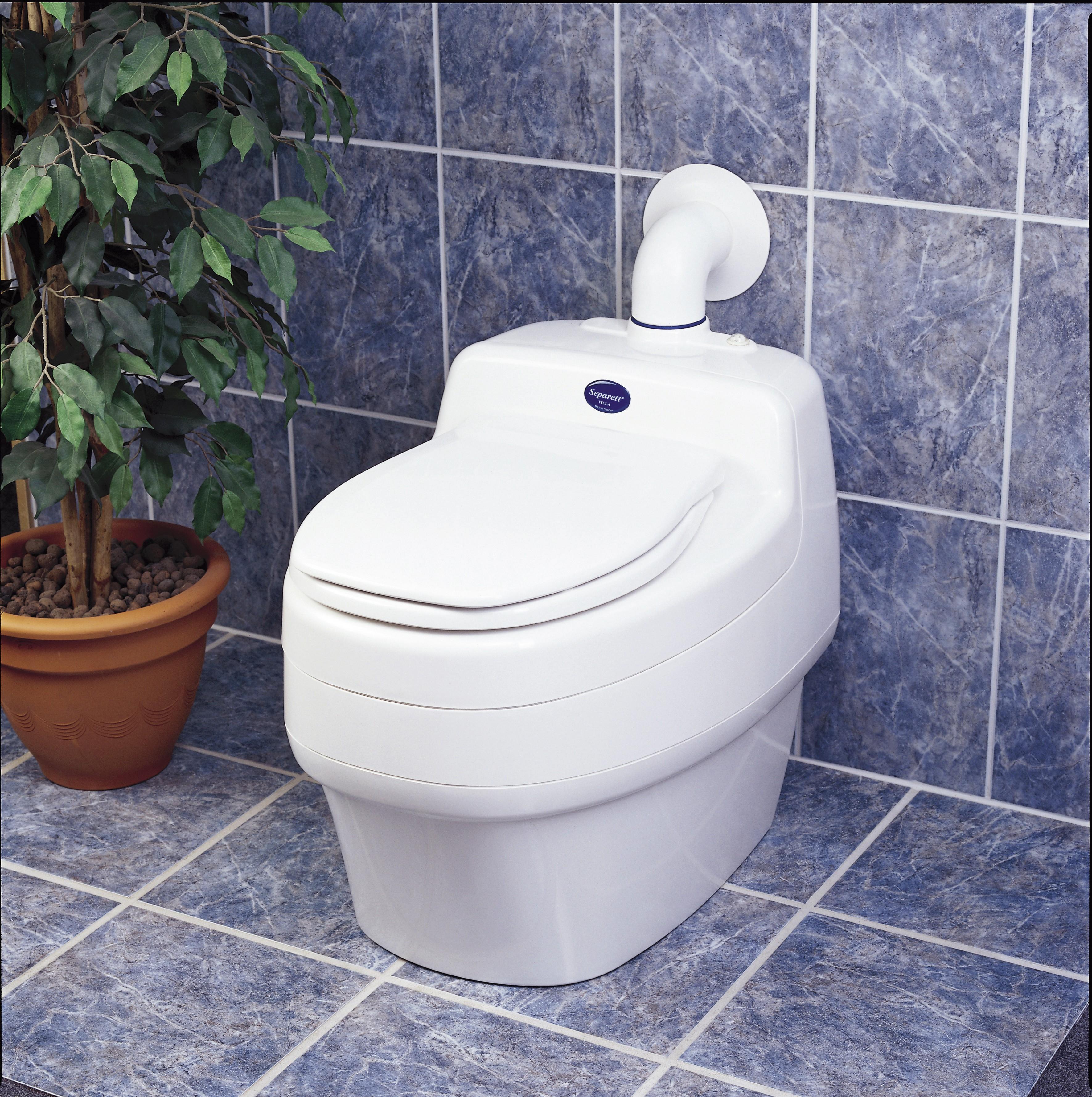 Toilette Sèche Écologique 230V Villa 9000 Separett destiné Toilettes Seche