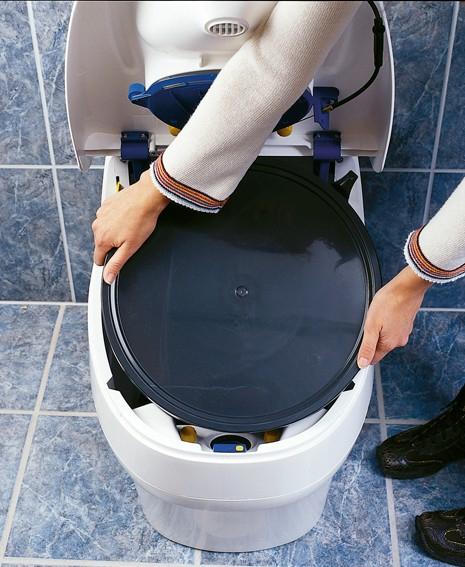 Toilette Sèche Écologique 230V Villa 9000 Separett encequiconcerne Toilette Seche Achat