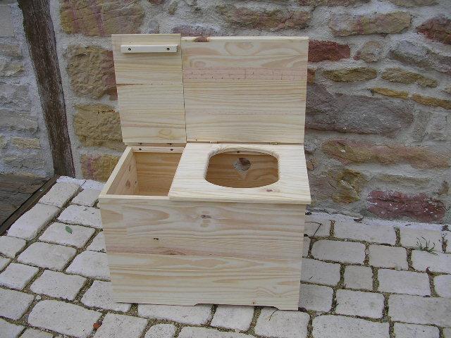 Toilette Sèche Idecolo (Avec Abattant Charnière Et Reserve concernant Toilettes Sèches Prix