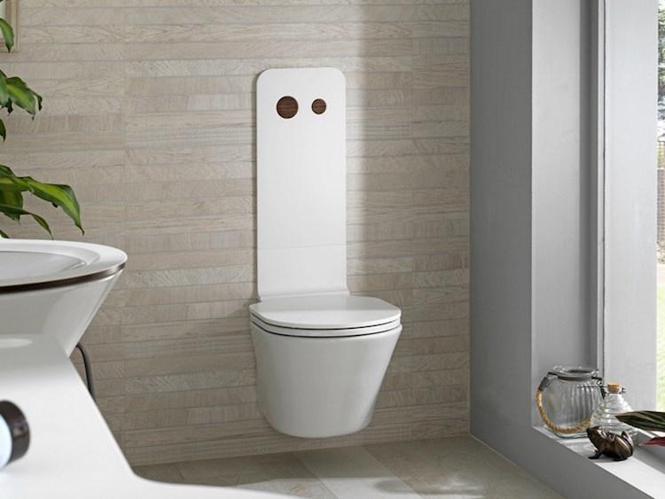Toilette Suspendue Pour Donner Une Allure À La Salle De destiné Toilettes Suspendus