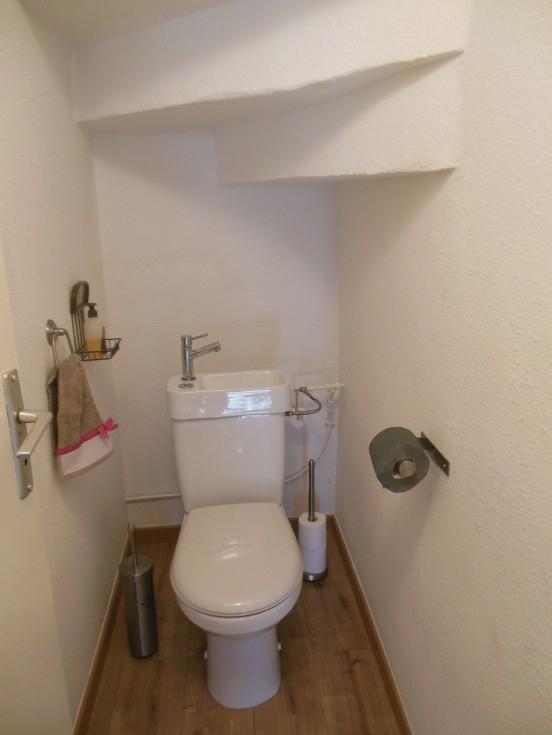 Toilettes (Photo 1/5) - Apres Renovation serapportantà Toilette Sous Escalier