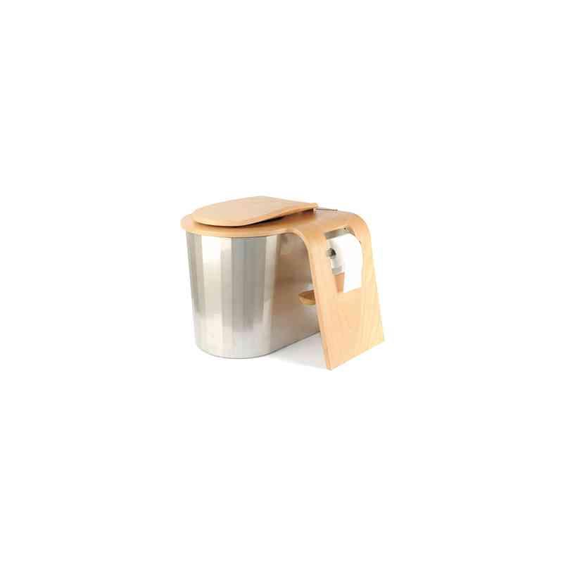 Toilettes Sèches D'Intérieur Ou D'Extérieur Modèle Zircone avec Toilette Seche Fonctionnement