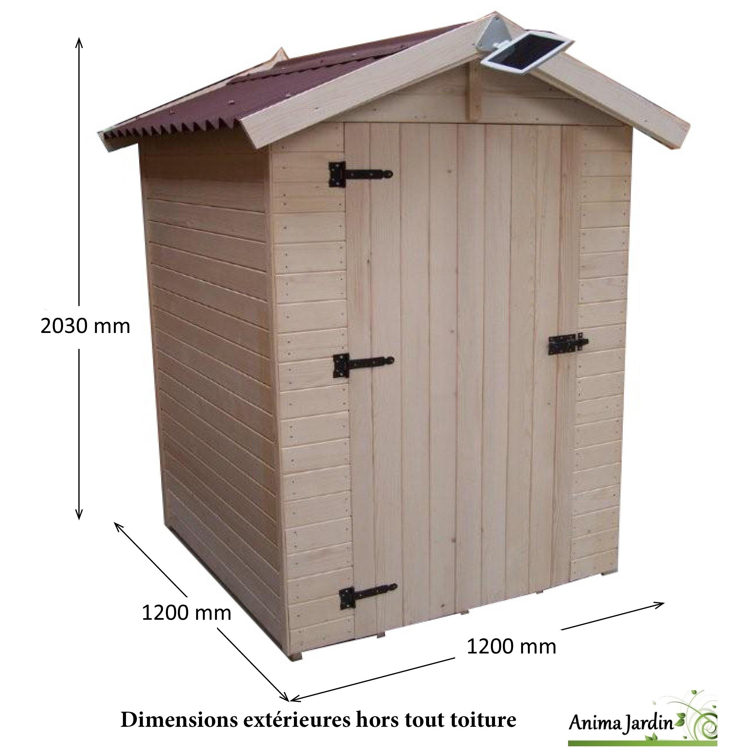 Toilettes Sèches En Bois Avec Sciure, Abri Extérieur, Prix tout Toilettes Sèches Prix