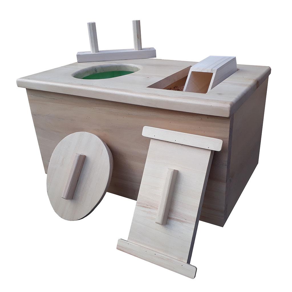 Toilettes Sèches Enfant En Bois, Fabriqué En France. pour Toilette Seche Interieur