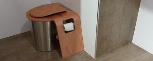 Toilettes Sèches | Pierre & Terre destiné Toilette Seche Interieur