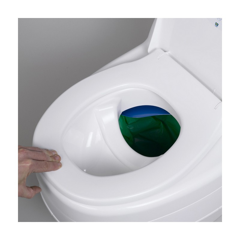 Toilettes Seches Separett Villa 9000 intérieur Toilette Seches