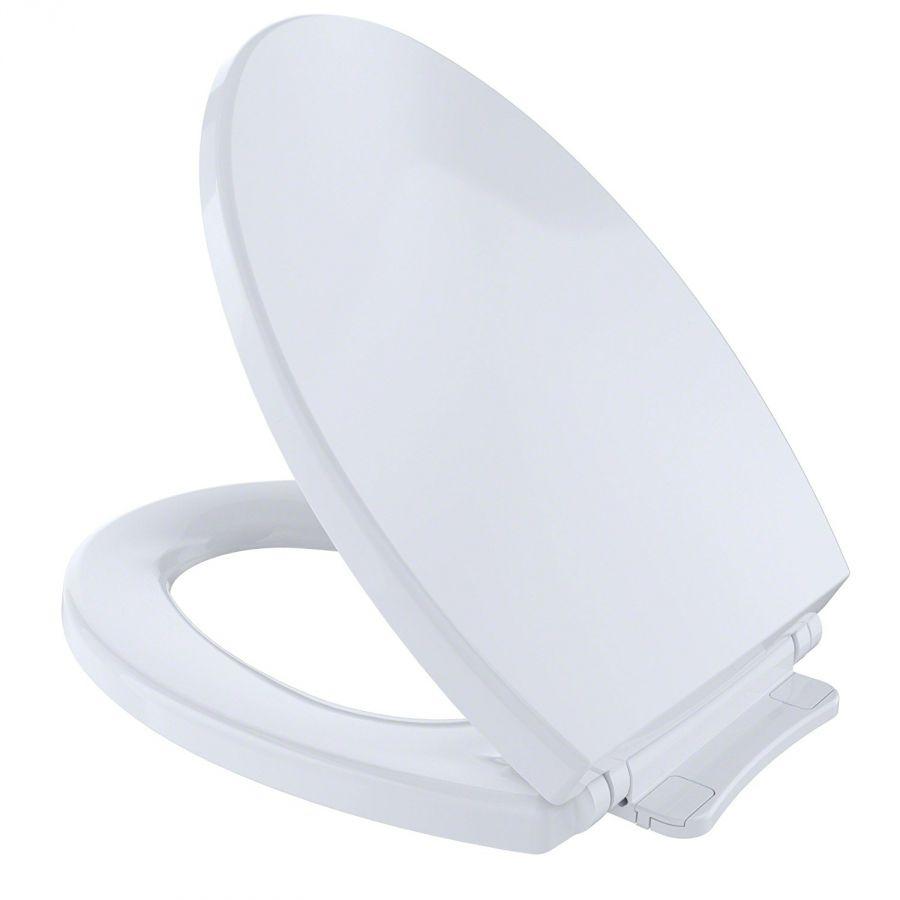 Toto Ss114 01 Softclose Elongated Toilet Seat Cover encequiconcerne Toilette Toto Prix