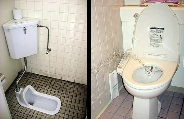 Traditionnelles Ou High-Tech, Bienvenue Dans Le Monde Des dedans Toilettes Japonaise