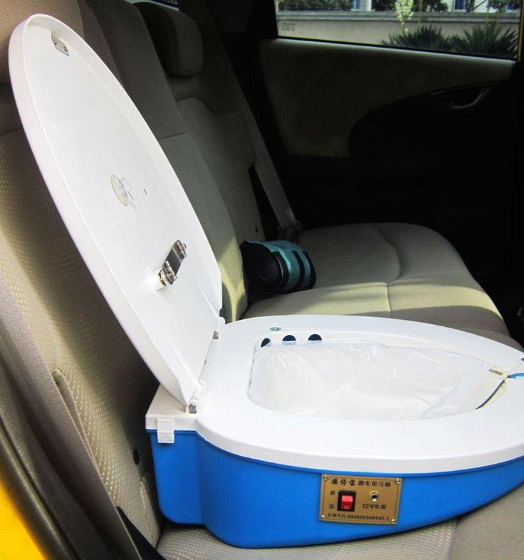 Travel Car Toilet Mobile Vehicle Emergency Toilet Toilet tout Toilettes Portables