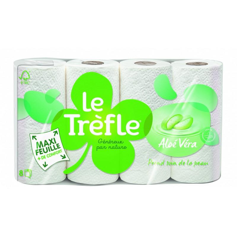 Trefle Rouleaux X8 Aloe Vera - Drh Market Sarl serapportantà Trefle Papier Toilette