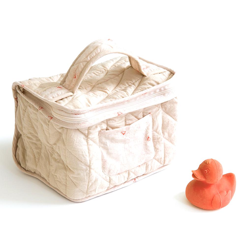 Trousse De Toilette Bébé Bird - Rose Sweetcase Pour encequiconcerne Trousse De Toilette Naissance