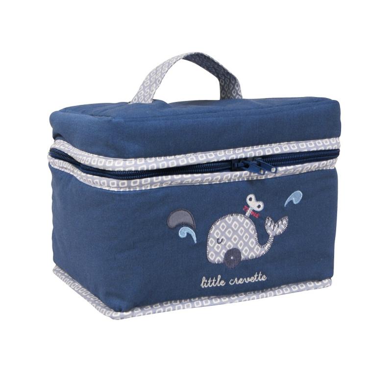Trousse De Toilette Bébé Bleue Baleine| Little Crevette pour Trousse De Toilette Garcon