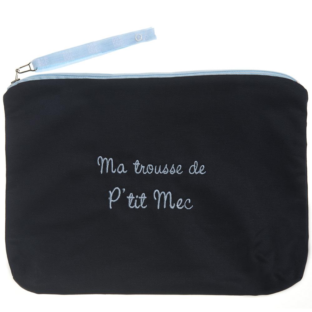 Trousse De Toilette Bébé Brodee Ma Trousse De P Tit Mec avec Trousse De Toilette Bebe