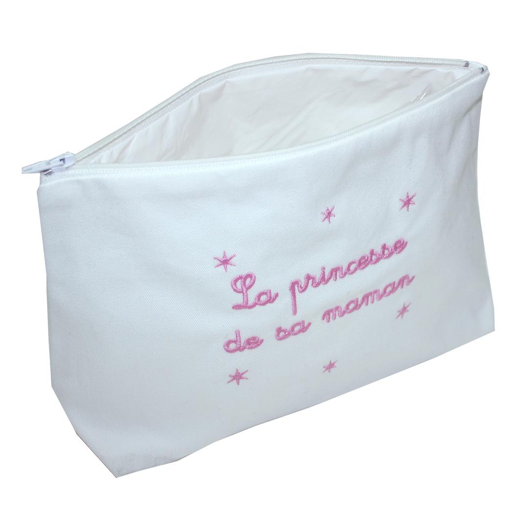 """Trousse De Toilette Bébé - """"La Princesses De Sa Maman pour Trousse De Toilette Bebe Fille"""