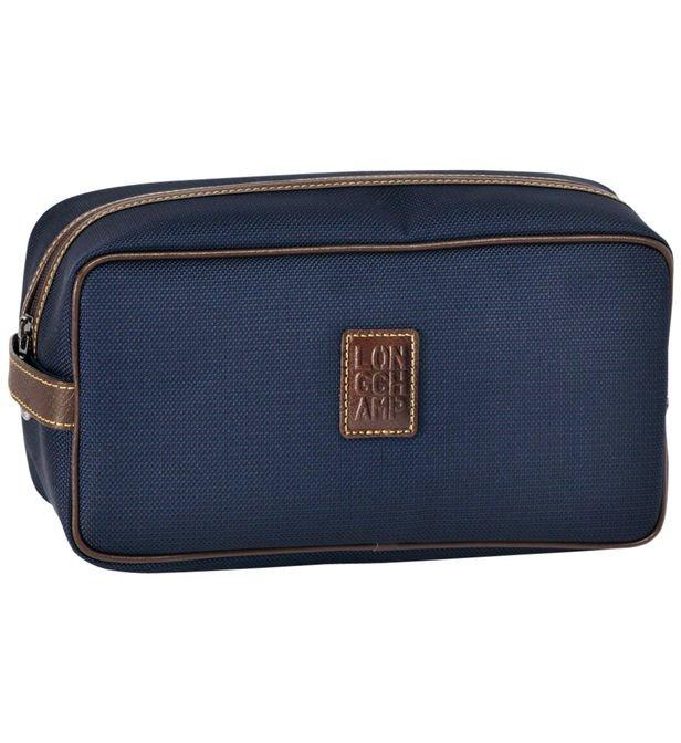 Trousse De Toilette Boxford Longchamp En Bleu | Galeries concernant Trousse De Toilette Longchamp
