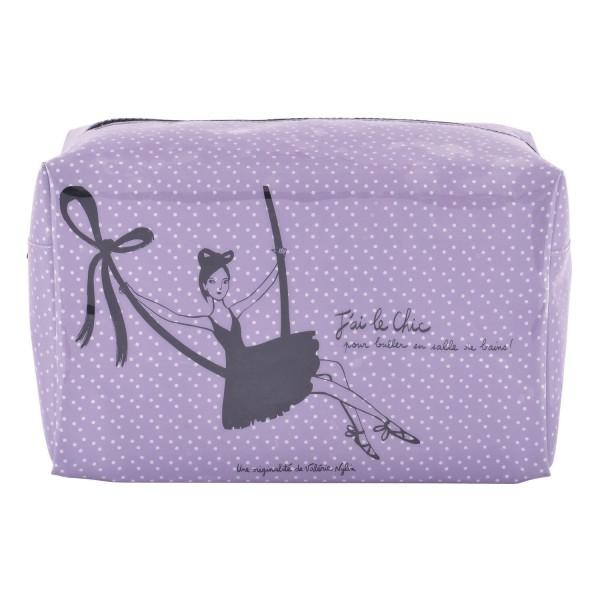 Trousse De Toilette Femme Violette - Trousse De Toilette destiné Trousse De Toilette Derrière La Porte