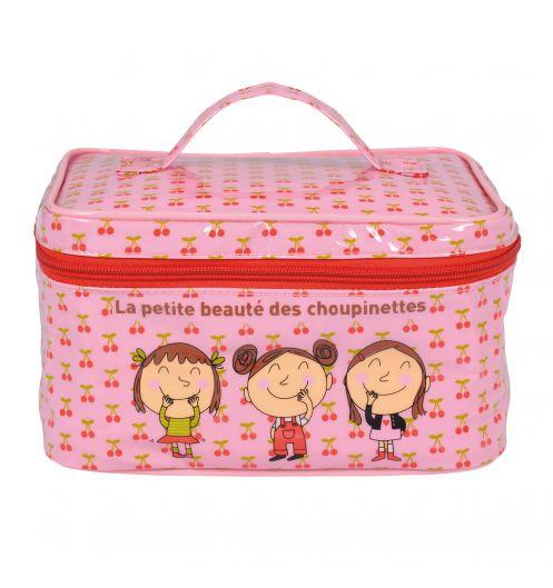 Trousse De Toilette Fille - Vanity Enfant Derrière La Porte intérieur Trousse De Toilette Derrière La Porte