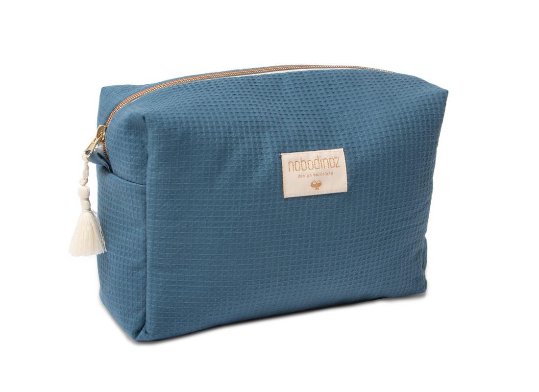 Trousse De Toilette Imperméable Diva 25X16X10 Night Blue tout Trousse De Toilette Crochet