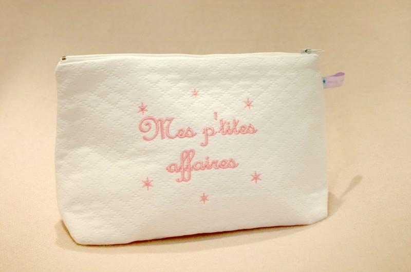 """Trousse De Toilette Petit Modèle """"Mes P'Tites Affaires à Trousse De Toilette Pour Bébé"""
