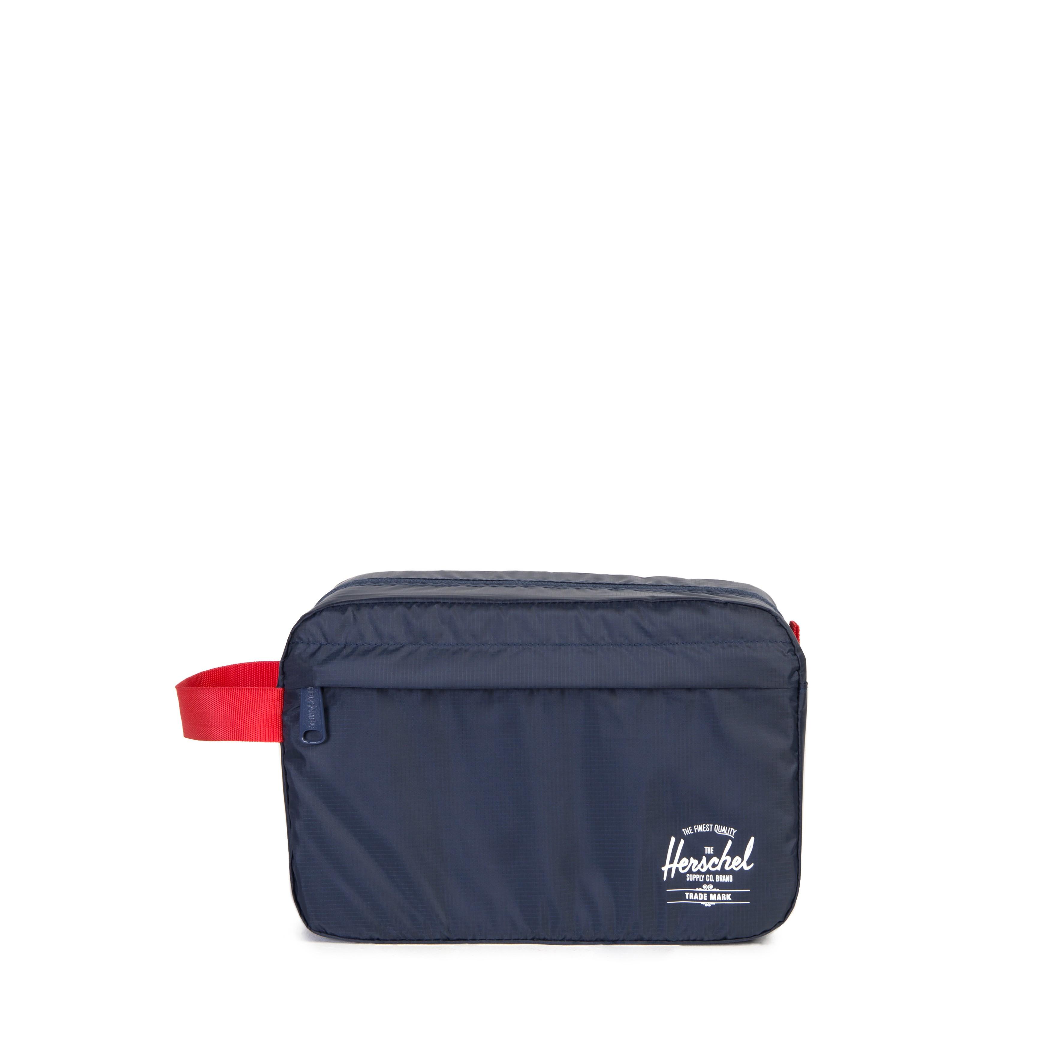Trousse De Toilette Toiletry Bag 3 Litres Navy Red Bleu encequiconcerne Trousse De Toilette Bagage À Main