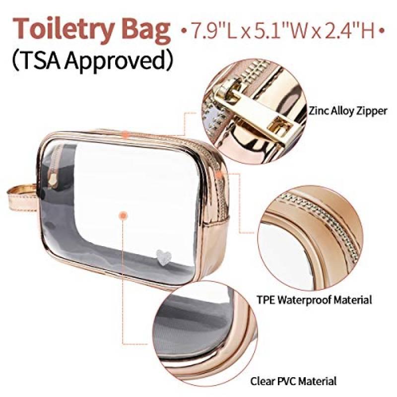 Trousse De Toilette Transparente Pour Avion : Les dedans Trousse De Toilette Avion