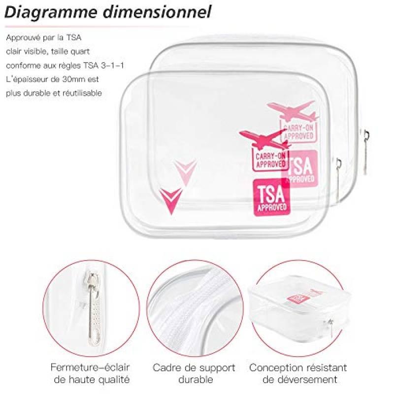 Trousse Toilette Bagage Cabine Pour 2020 - Choisir Les avec Trousse De Toilette Cabine Avion