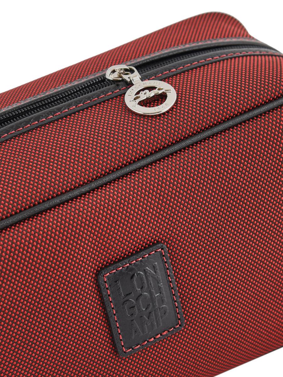 Trousses De Toilette Longchamp 1034080 Rouge Laquee En avec Trousse De Toilette Longchamp