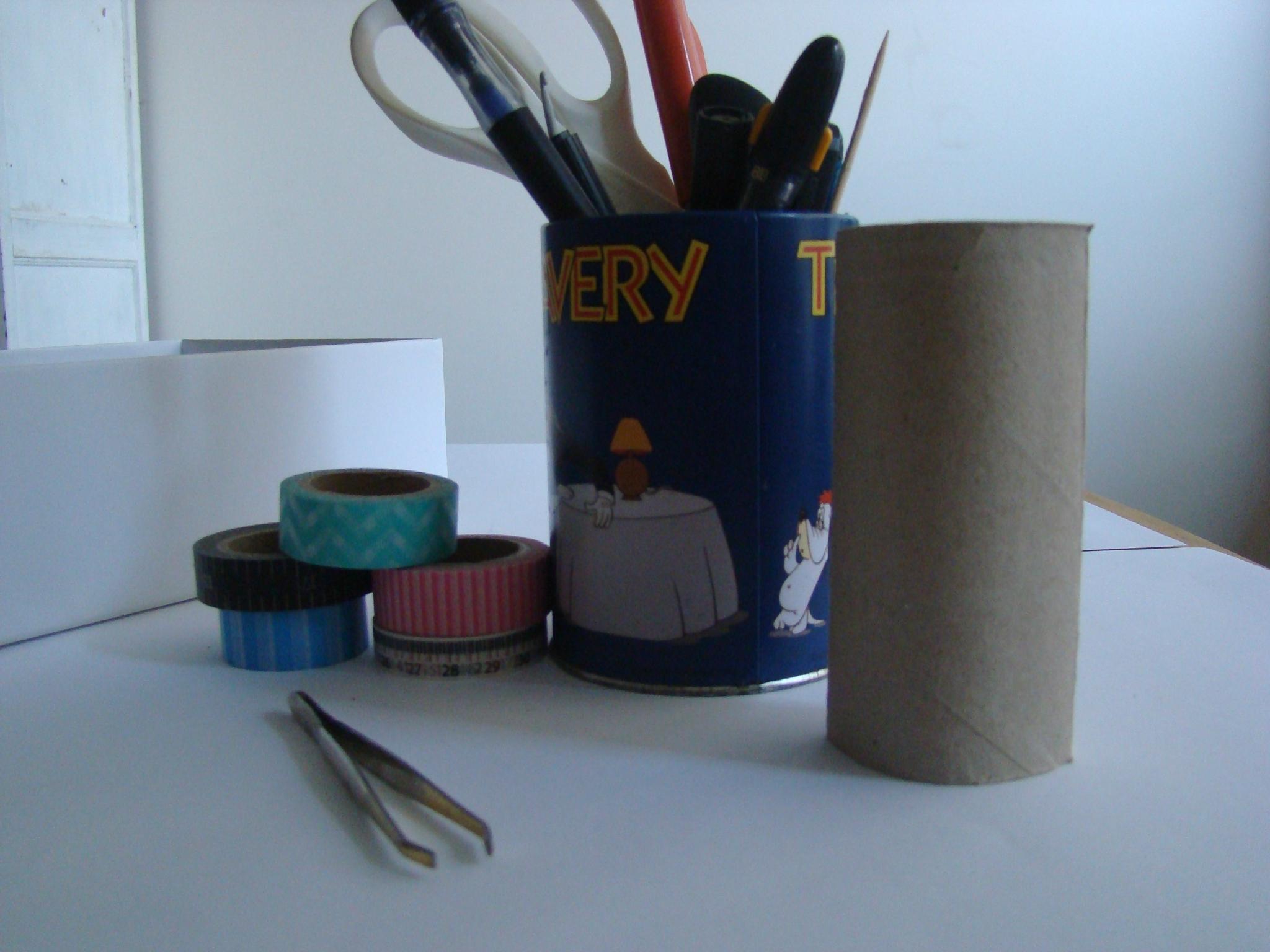 Tuto: ☆ Recycler Un Tube De Papier Toilette☆ - La Fée Tonnante dedans Toilettes Bouchées Que Faire