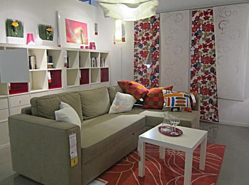 Un Petit Tour Chez Ikéa À Fribourg - La Cerise Sur La Décô destiné Rideau Fil Ikea
