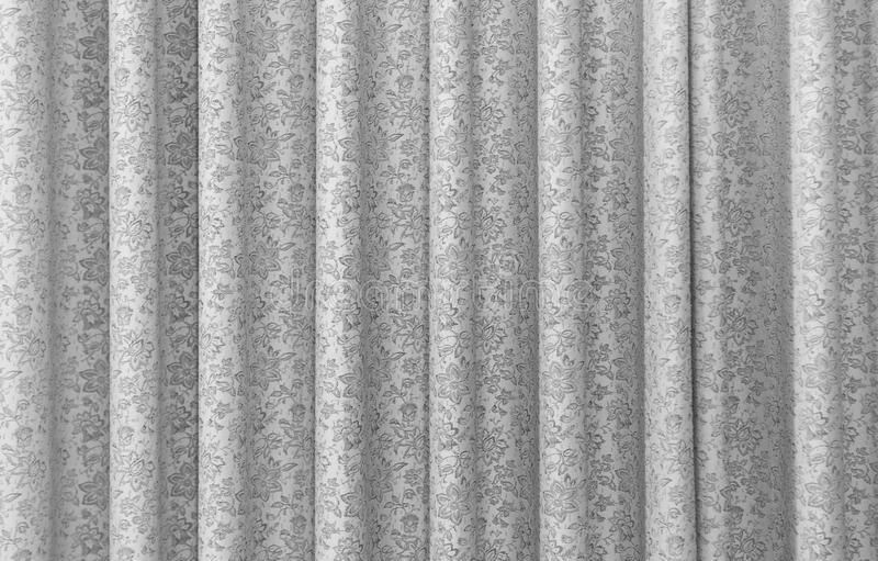 Un Rideau Gris Image Stock. Image Du Texture, Décoré encequiconcerne Rideau Gris Pailleté
