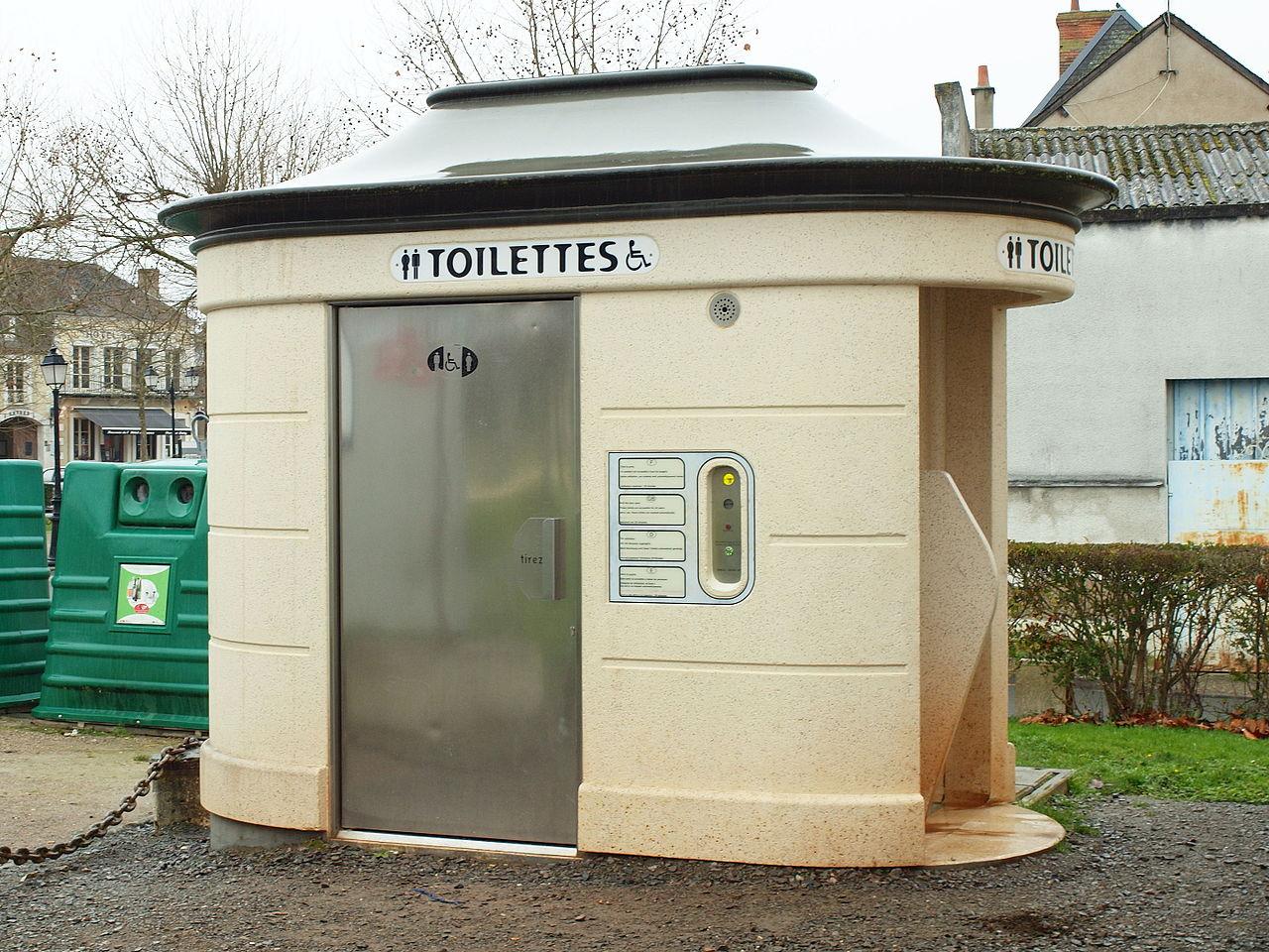 Une Application De Géolocalisation Des Toilettes Publiques pour Toilette Publique Paris